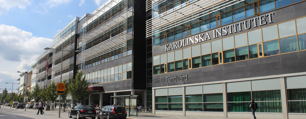 Karolinska Institute building in Sweden