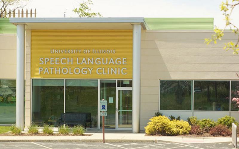 The Speech Language Pathology building